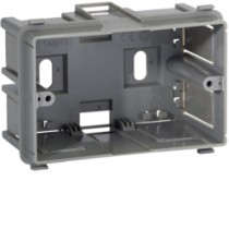 Scatola porta apparecchi Bocchiotti SAN-3 tre moduli per canali altezza 60 B02295