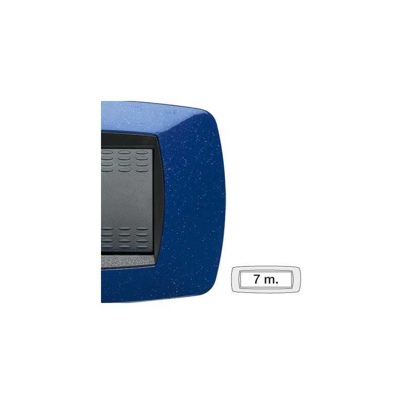 Placca Master Modo Blu vio in tecnopolimero 7 posti 39TC367