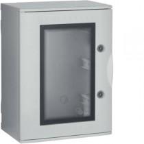 Quadro Bocchiotti VTR 02 OBLO' in Vetroresina porta trasparente IP66 36 moduli B04622