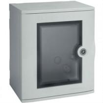 Quadro Bocchiotti VTR 01 OBLO' in Vetroresina porta trasparente IP66 B04621