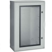 Quadro Bocchiotti VTR 04 OBLO' in Vetroresina porta trasparente IP66 72 moduli B04624