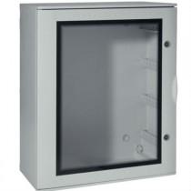 Quadro Bocchiotti VTR 05 OBLO' in Vetroresina porta trasparente IP66 96 moduli B04625