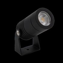 Proiettore a Led 6 W colore Nero Bianco caldo (3000K) Lampo PROJ6WNEBC