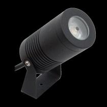 Proiettore a Led 12 W colore Nero Bianco caldo (3000K) Lampo PROJ12WNEBC