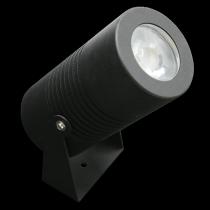 Proiettore a Led 22 W colore Nero Bianco caldo (3000K) Lampo PROJ22WNEBC