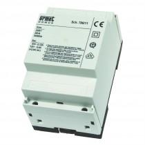 Alimentatore citofonico con generatore di nota (230 Vca) 786/11 URMET