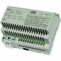 Alimentatore citofonico Urmet per impianti intercomunicanti con doppio generatore di nota (230 Vca) 786/15