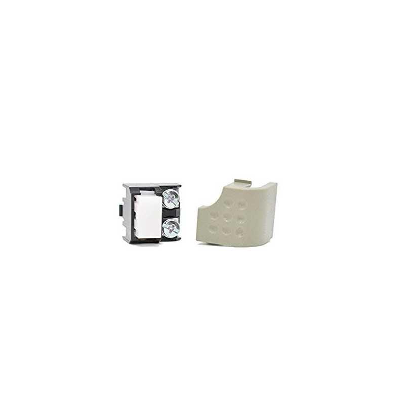 Tasto aggiuntivo per citofono Urmet modello 1130 colore grigio codice 1130/100