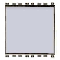 Pulsante Campanello Illuminabile Vimar Arkè 2 moduli 10A Metal 19050.M