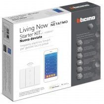 "Starter Kit Bticino ""nuova deviata"" per gestione luci Living Now K3000KIT"