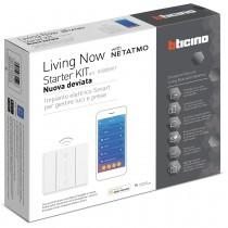 "Starter Kit Bticino ""nuova deviata"" per gestione luci Living Now K3000KIT"