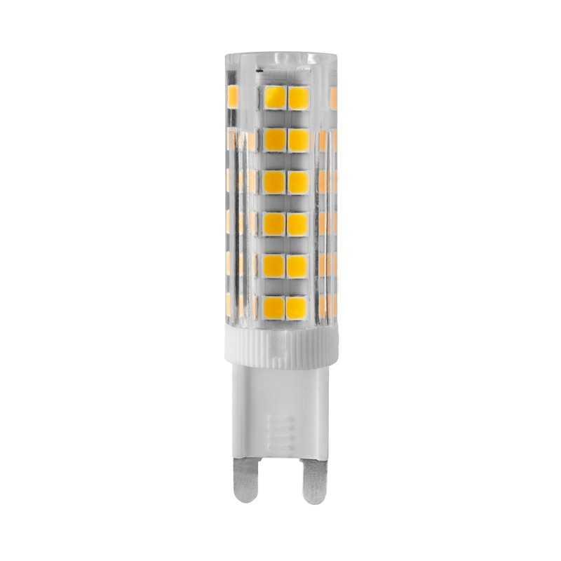 Lampada a led base in ceramica attacco G9 4,5W luce Calda Wiva 12100357