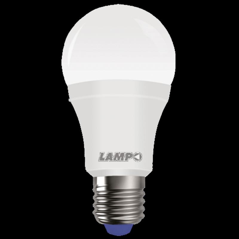 Lampada a Led Goccia Satinata 15W Luce Fredda Attacco E27 Lampo