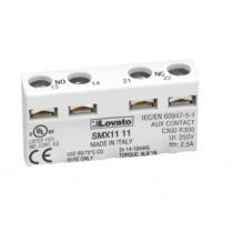 Contatto Ausiliario aggancio frontale 2 NA per contattori serie SM1P Lovato SM1X1120