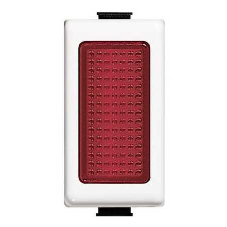 BTICINO MATIX  portalampada con diffusore rosso AM5060R