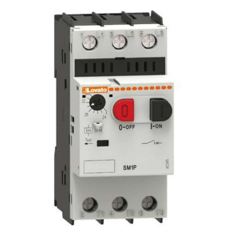 Schema Elettrico Contattore E Salvamotore : Salvamotore lovato con regolazione termica a sm p