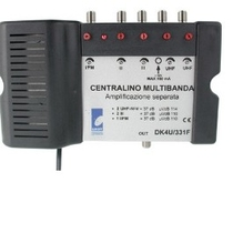 Centralino multibanda 2xUHF + 2BIII + 1xBI DK4U331F GALAXY