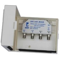 Miscelatore terrestre da palo 1xUHF + 1xVHF - 2 uscite MIX1UV2F