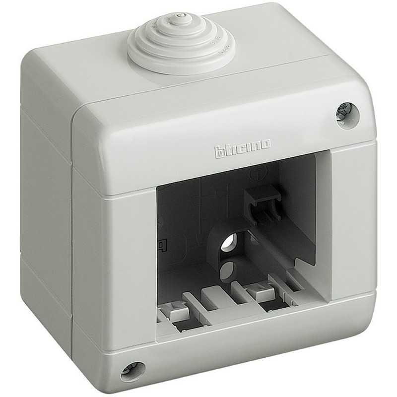 Contenitore 2 moduli IP40 Idrobox Matix Bticino 25402