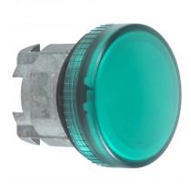 Indicatore Verde per lampada spia foro 22 Schneider ZB4BV033
