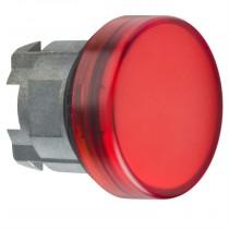 Indicatore Rosso per lampada spia foro 22 Schneider ZB4BV043
