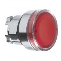 Pulsante illuminabile Rosso foro 22 Schneider ZB4BW343
