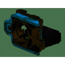 Corpo contatti completo di base di fissaggio e 1 contatto NA Schneider ZB4BZ101