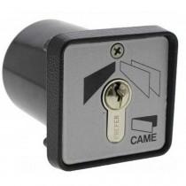 Selettore a chiave da incasso con custodia in lega di alluminio Came 001SET-I