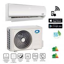 Climatizzatore Diloc 12000 Btu Inverter classe A++ Gas R32 Serie Frozen