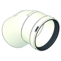 Curva MF 45° in P.P. diametro 80  con guarnizione TECNOGAS 51276