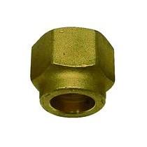 Bocchettone con Raccordo 3/8 per foro 9,52 con filetto rinfozato per Gas R410A TECNOGAS 11351
