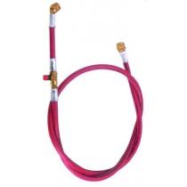 Tubo flessibile Rosso con attacco da 1/4 per Vuoto e Carico TECNOGAS 11494