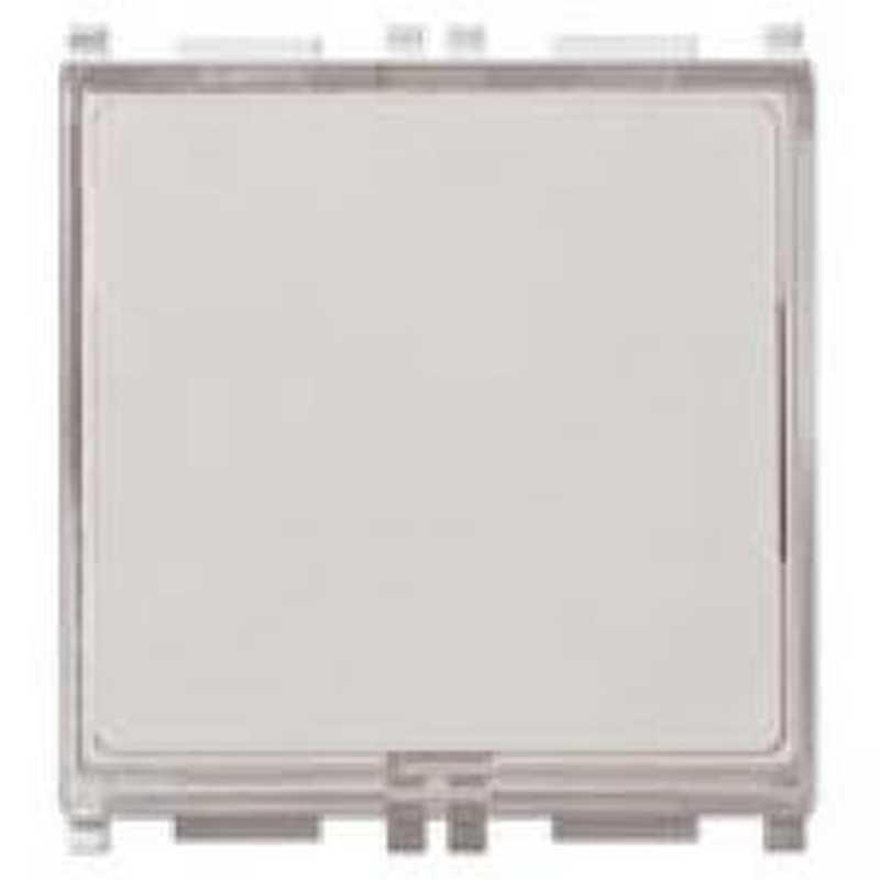 Pulsante targhetta VIMAR PLANA 1P NO 10A 250V bianco