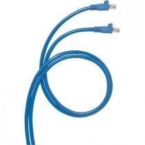Cavo di collegamento Rj45 3Mt UTP Patch Cord categoria 6 Blu Bticino C9230U/6