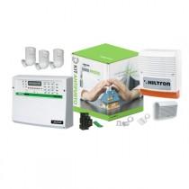 Kit antifurto con centrale Protec8 con combinatore GSM Hiltron KPROTEC8GSM