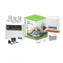 Kit antifurto con centrale Protec9 completa di accessori Hiltron KPROTEC9