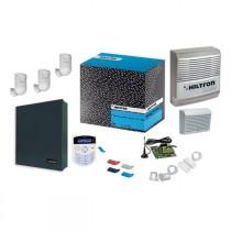 Kit antifurto con centrale XMA4000 completa di accessori Hiltron KXMA4000
