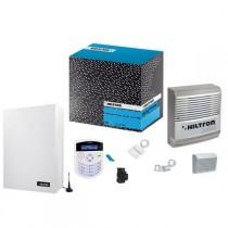 Kit antifurto con centrale XMR4000 completa di accessori Hiltron KXMR4000