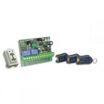 Kit chiave ad inserimento con tre chiavi scheda e inseritore serie Magic SK103