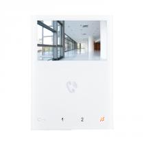 Monitor a colori da parete Vivavoce 4.3/16.9 Bianco Comelit 6721W
