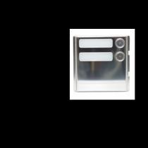 Modulo 2 pulsanti con espansore integrato Urmet 1158/82