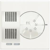 Termostato Ambiente Elettronico 230V Serie Civili  Bticino Axolute Bianca HD4441