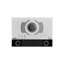 Frontalino Alpha per video posto esterno con due pulsanti e DDA Urmet 1168/142