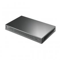 Switch Hub 8 Porte 10/100/1000Mbps PoE e 2 Porte SFP TP-LINK TPL T1500G-10PS