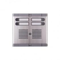 Frontale quattro pulsanti su due file con scatola ad incasso predisposto per posto esterno 925/204