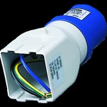 Adattatore da Presa Industriale a presa Civile 2P+T Blu 16A 230V Gewiss 64206