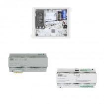 Kit base impianto audio con interfaccia di colonna Alpha 2Voice Urmet 1783/728