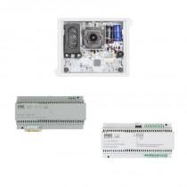 Kit base impianto Video Alpha con interfaccia di colonna 2Voice Urmet 1783/738