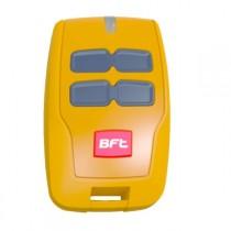 Telecomando a 4 Canali con Portata 50/100 Mt Giallo BFT MITTO B RCB04 R1 SUNRISE