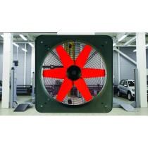 Aspiratore Elicoidale Industriale 220V 300mm con Portata di 1360Mc/h Vortice E304M
